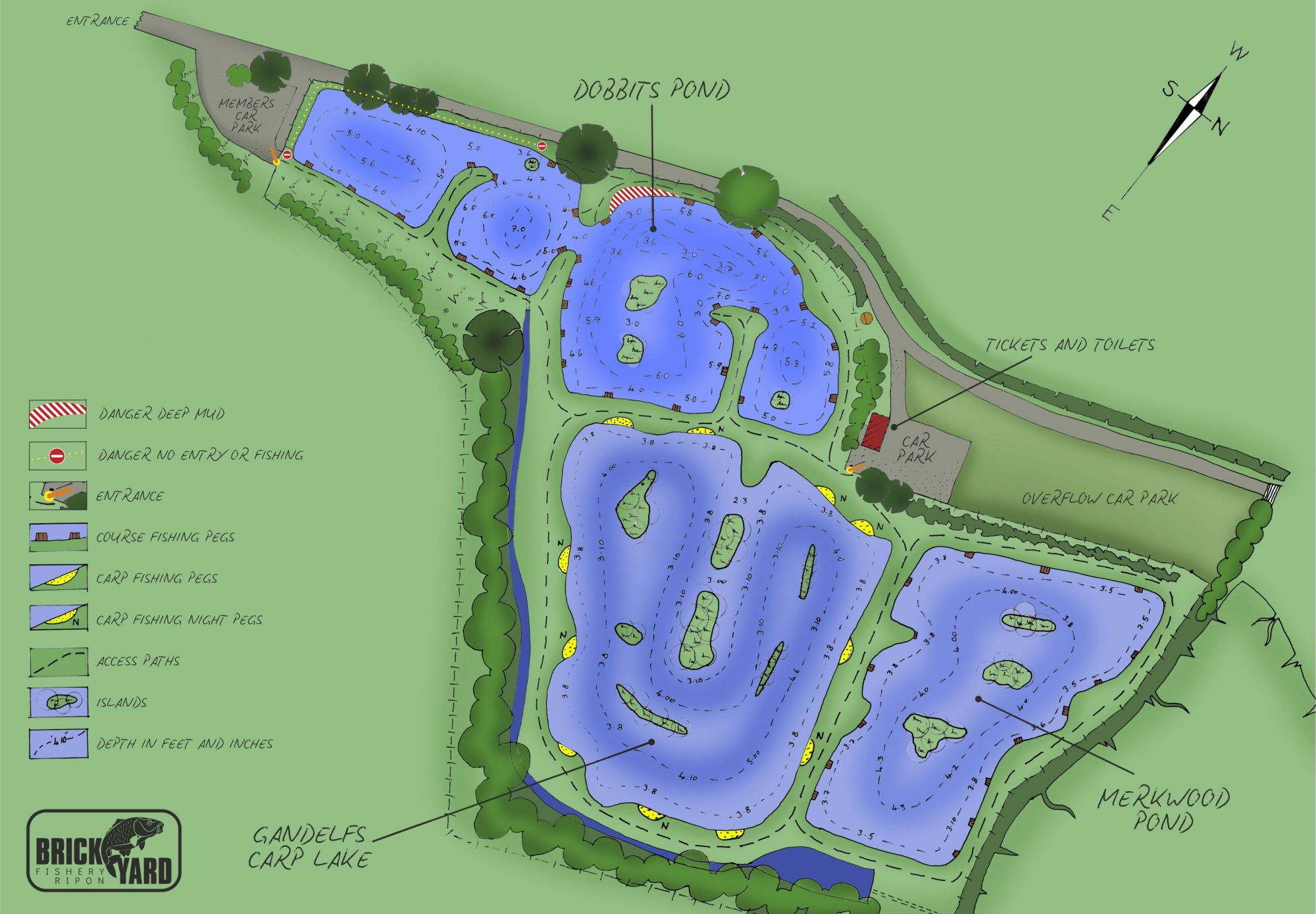 Brickyard Site Plan